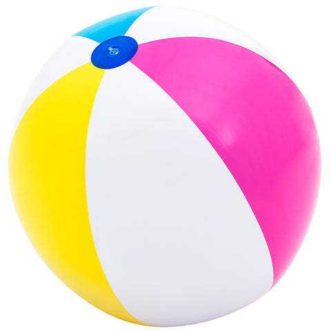 Bestway 152cm Giant Multicoloured Beach Ball 2pk