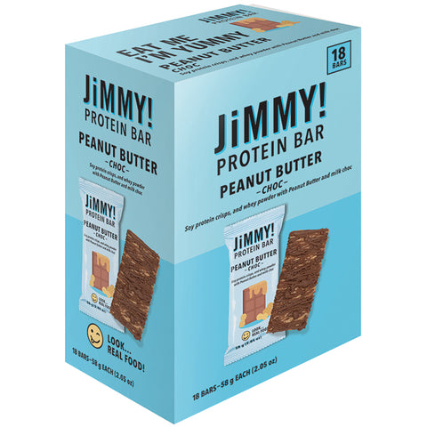 Image of Jimmy! Protein Bars 18 x 58g