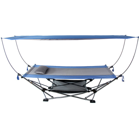Image of Mac Sports Hammock with Canopy, 1.41m