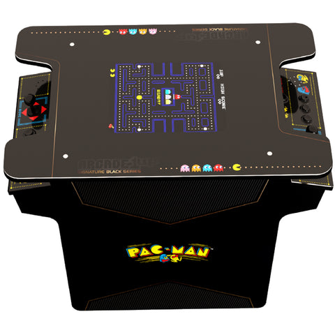 Image of Arcade1Up Pacman Black Series Head To Head Table Arcade, 7892