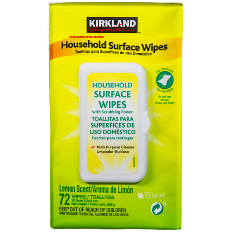 Image of Kirkland Signature Surface Wipes 4 Pack, 304 Wipes