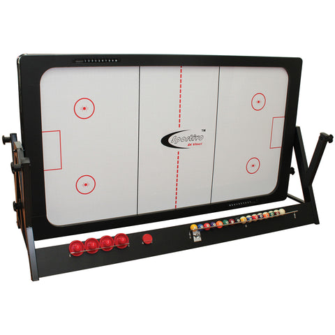 Image of Sportivo Flipover Pool & Air Hockey Table