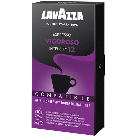Lavazza Vigoroso Coffee Capsules 80pk