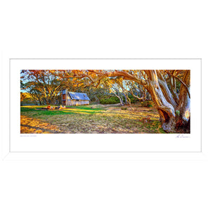 Ken Duncan Wallace Hut Framed Print