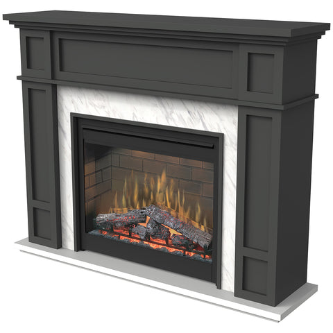 Image of Dimplex Eltham Mantel Electric Fireplace, 2KW, ETM20-AU