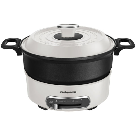 Image of Morphy Richards Multifunction Pot, Round, 1.8L, 1400W, MRMP18W