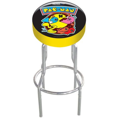 Image of Pac-Man 7 in 1 Arcade Machine & Stool Bundle 40th Edition
