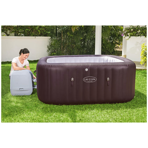 Bestway Lay-Z-Spa Maldives HydroJet Pro Inflatable Spa, 2.01m x 2.01m x 80cm, 60033 (Metro suburb only)