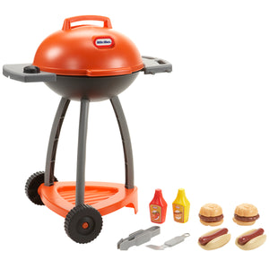 Little Tikes Sizzle & Serve Grill BBQ Set