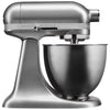 Kitchenaid Stand Mixer Mini - Contour Silver 5KSM3311XACU