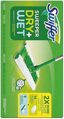 Swiffer Dry and Wet Sweeper Kit