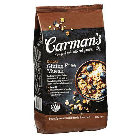 Carman's Deluxe Gluten Free Cereal 1.2Kg