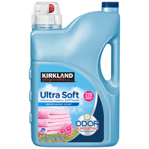 Kirkland Signature Ultra Soft Premium Fabric Softener 5.53L