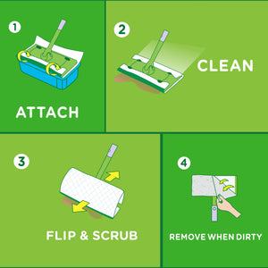 Swiffer Sweeper Wet Refill 2 x 32ct