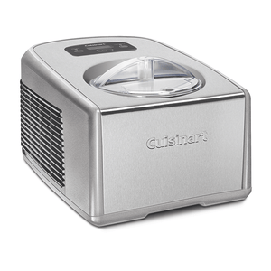 Cuisinart Commercial Ice Cream & Gelato Maker, 1.5L, Silver, ICE-100BCXA
