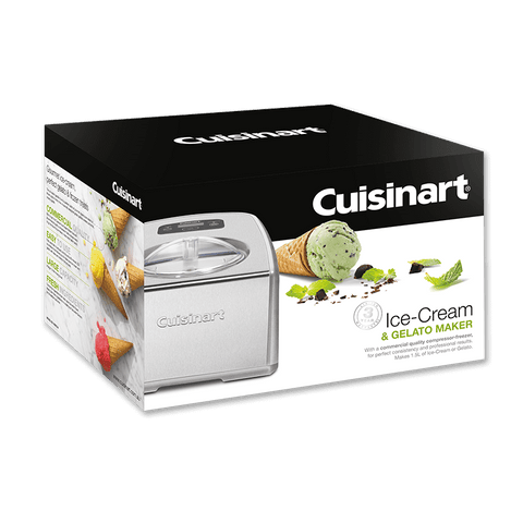 Image of Cuisinart Commercial Ice Cream & Gelato Maker, 1.5L, Silver, ICE-100BCXA
