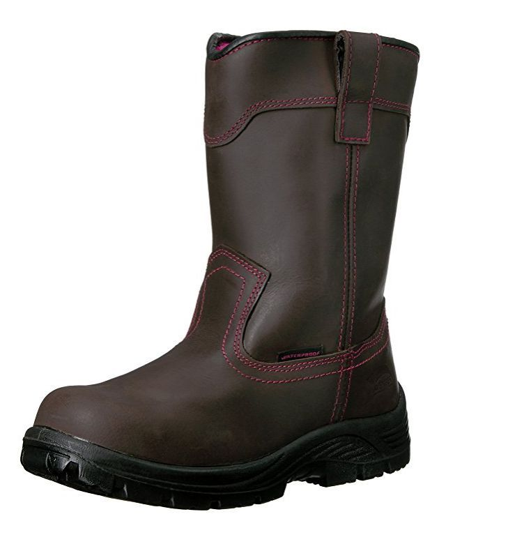 Avenger Women's Composite Toe Waterproof EH Pull On Boot A7146