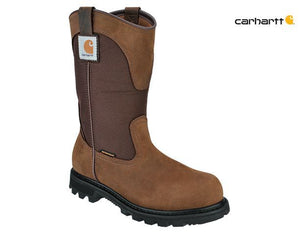 "Carhartt Women's 11"" Steel Toe Pull On Waterproof Work Boot CWP 1250"