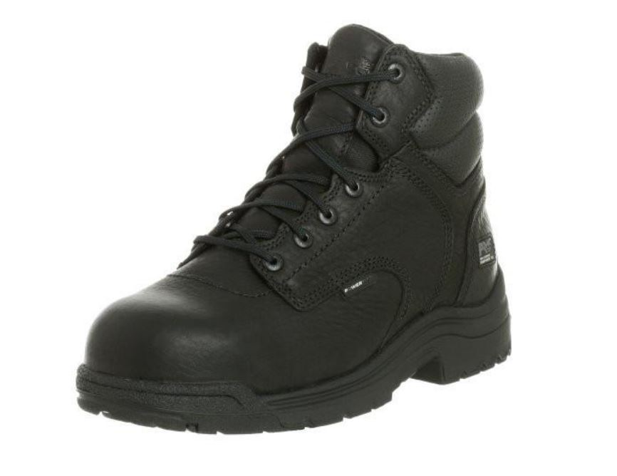 "Timberland PRO Titan Men's Black Composite Toe EH SR 6"" Work Boot TB050507"
