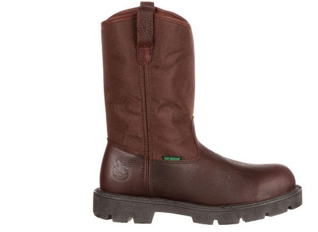 Georgia Boot Homeland Steel Toe Waterproof Pull On Work Boot G111
