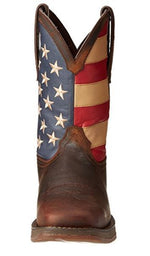 Durango Rebel Men's American Flag Pull On Steel Toe EH Western Boot DB020