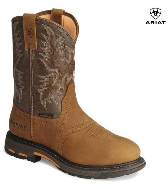 Ariat Workhog H2O Pull On Waterproof Work Boot 10008633