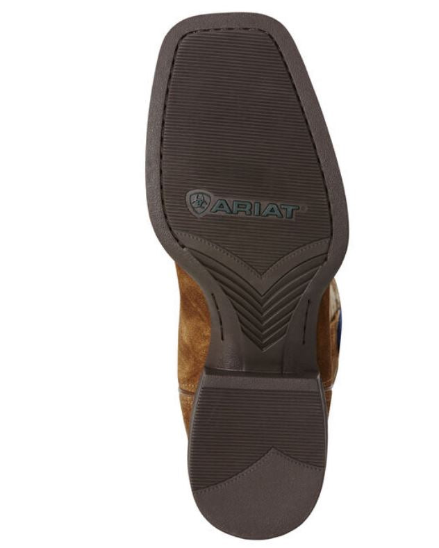 Ariat Men's Sport Patriot Brown Leather Western Boot 10019959