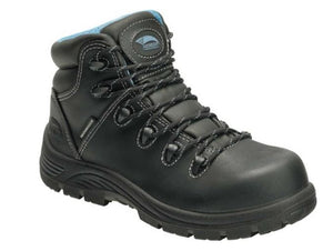 Avenger Women's Composite Toe Waterproof Oil/Slip Resistant Work Boots A7127