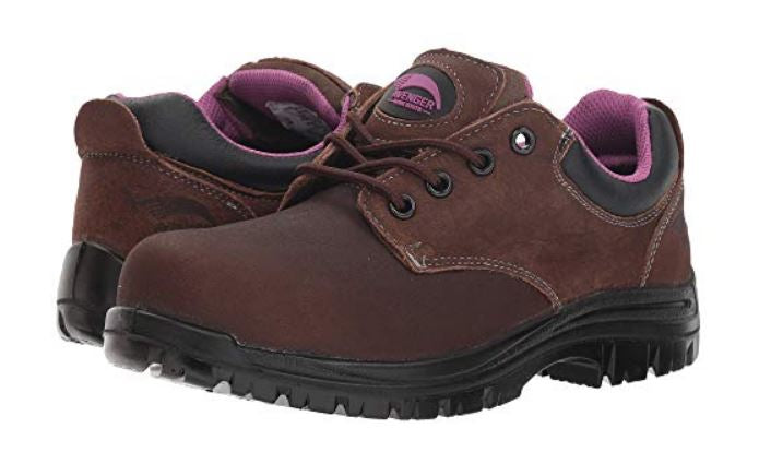 Avenger Women's Composite Toe Electrical Hazard Slip/Oil Resistant Waterproof Work Shoe 7146
