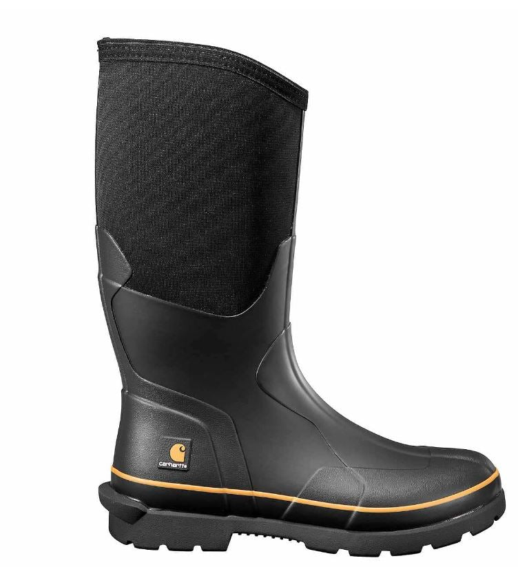"Carhartt Men's Mudrunner 15"" Electrical Hazard WP Safety Toe Rubber Boot CMV1451"