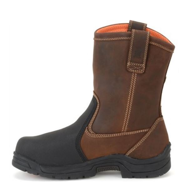 fb5c7d5ec83 Carolina Well X Men's EH Composite Toe Metatarsal Guard Wellington Work  Boot CA4582