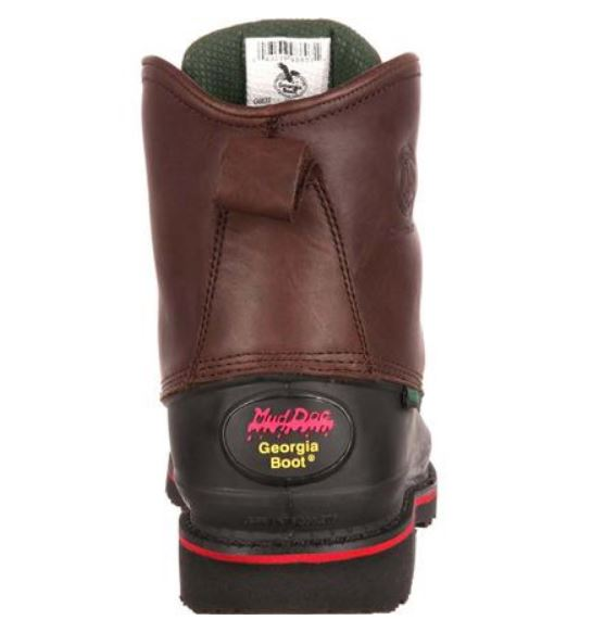 Georgia Men's Muddog Steel Toe Electrical Hazard Waterproof Work Boot G6633