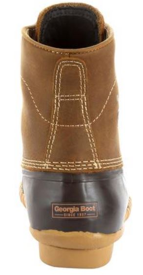 "Georgia Boot Men's 6"" Waterproof Slip\Oil Resistant Marshland Duck Boot GB00274"