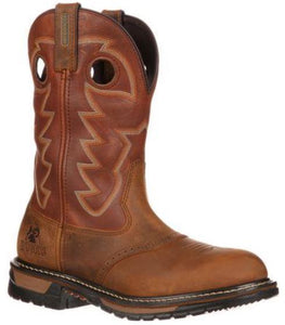 Rocky Original Ride Branson Saddle Waterproof Roper Western Boot FQ0002775
