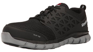 Reebok Sublite Men's Alloy Toe EH Slip Resistant Cushioned Work Shoe RB4041