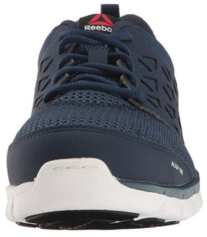 Reebok Sublite Men's Navy Alloy Toe EH Slip Resistant Cushioned Work Shoe RB4043