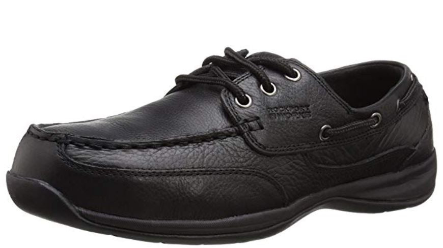 Rockport Works Men's Steel Toe Electrical Hazard Slip Resistant Work Shoe RK6738