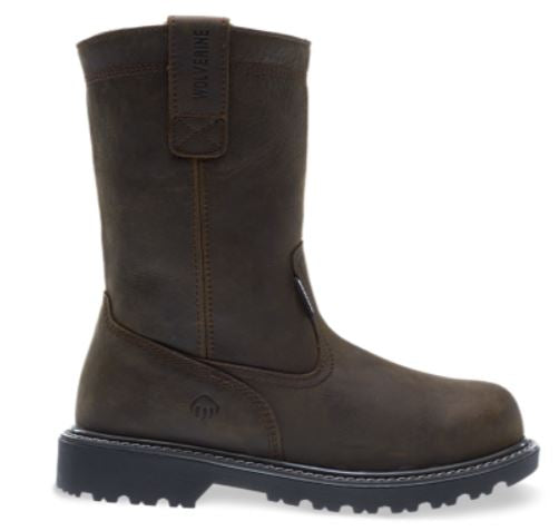 "Wolverine Men's Floorhand 10"" Wellington Waterproof Work Boot 10682"