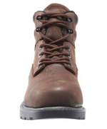 "Wolverine Floorhand Dark Brown 6"" Waterproof Lace Up Work Boot W10643"