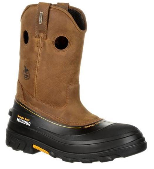 Georgia Boot Muddog Composite Toe Waterproof Wellington Work Boot GB00243