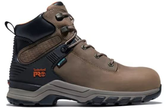 Timberland Men's Waterproof Composite Toe Leather Lace-Up EH Work Boot TBOA28AE