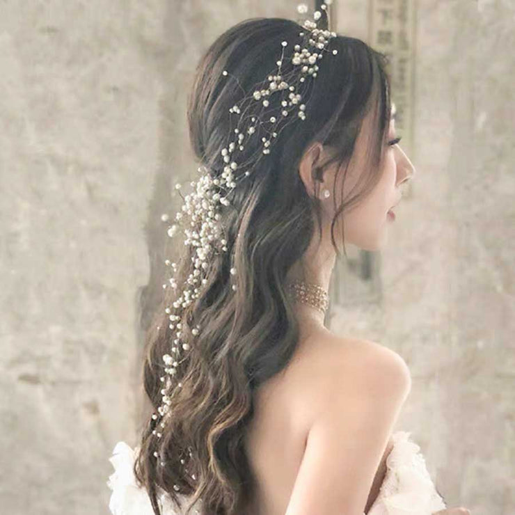 Pearl Vine Bridal Wedding Accessory Hairband