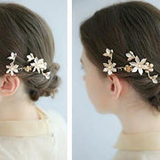 Simple Floral Design Bridal Wedding Accessory Hairband