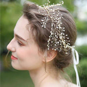 Simple Crystal Hair Vine Bridal Wedding Accessory Hairband