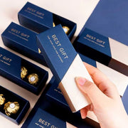 50 PCS Blue Horizontal Wedding Candy Boxes for Guest Favors