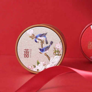 50 PCS Elegant Chinese Red Wedding Candy Boxes for Guest Favors