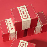 50 PCS Red Candy Boxes Designed with Paper Tag For Guest Favors