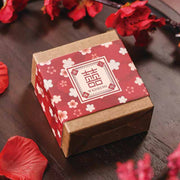 50 PCS Guest Favors Chines Style Wedding Candy Boxes with 2 different Design with Double Happiness Sign