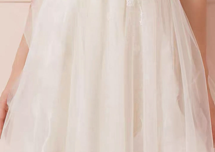 [RENT OR BUY] Custom Made Tube Tulle Overlay Wedding Dress