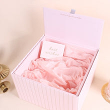 3 PCS & Up White Bridesmaid Gifts Box with Matching Ribbon